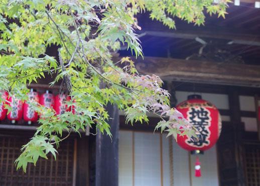 赤山禅院の地蔵堂