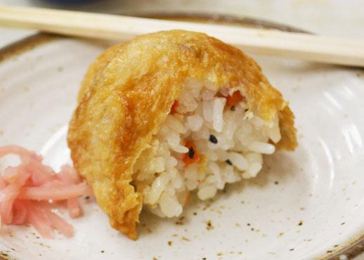 ちから餅食堂のいなり寿司