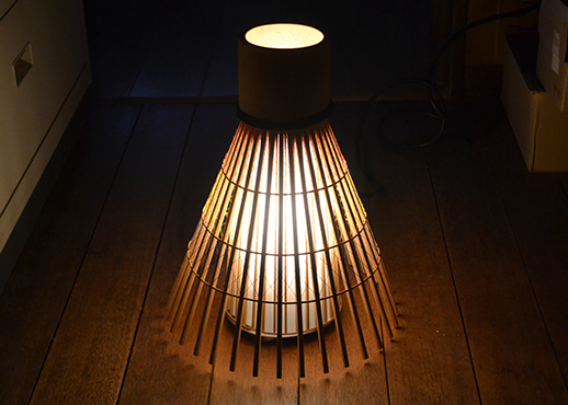 京都市の創作行灯デザインコンペで最優秀賞を受賞した作品