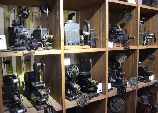 おもちゃ映画ミュージアムの映写機