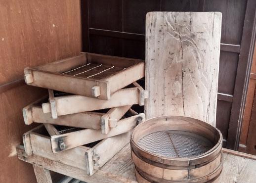 みささ堂の製菓道具