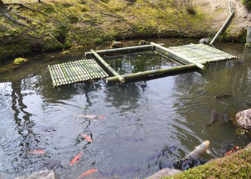 松花堂の池