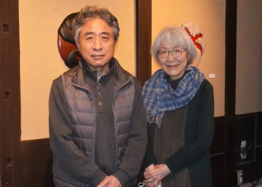 ギャラリー567の本田晃三さん、佳子さんご夫妻