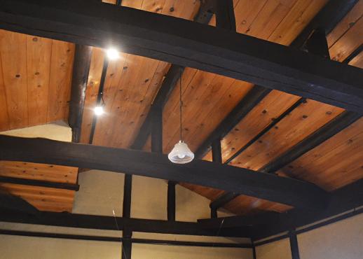 ギャラリー567の天井