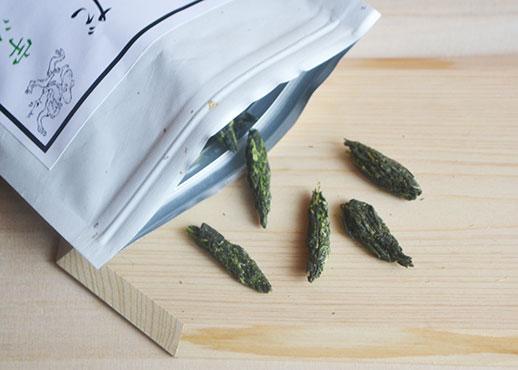 吉田銘茶園のだんご茶