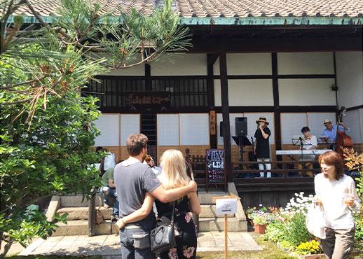 金剛寺のおてらカフェ