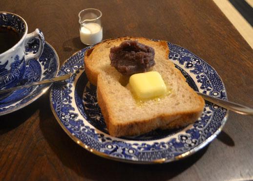 宇野さんが炊く小豆あんが秀逸なあんトースト