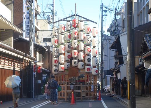 祇園祭の山鉾、八幡山