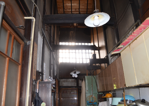 京町家特有の台所