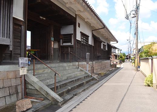 東一口の旧山田家住宅
