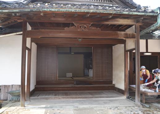旧山田家住宅の内玄関