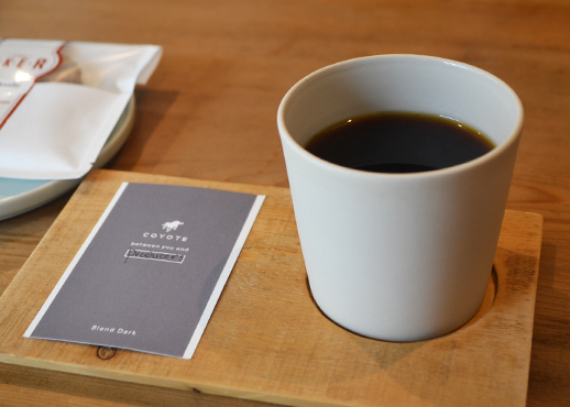 COYOTEのコーヒー